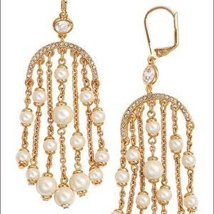 ♠️Kate Spade♠️ Pearls of Wisdom earrings